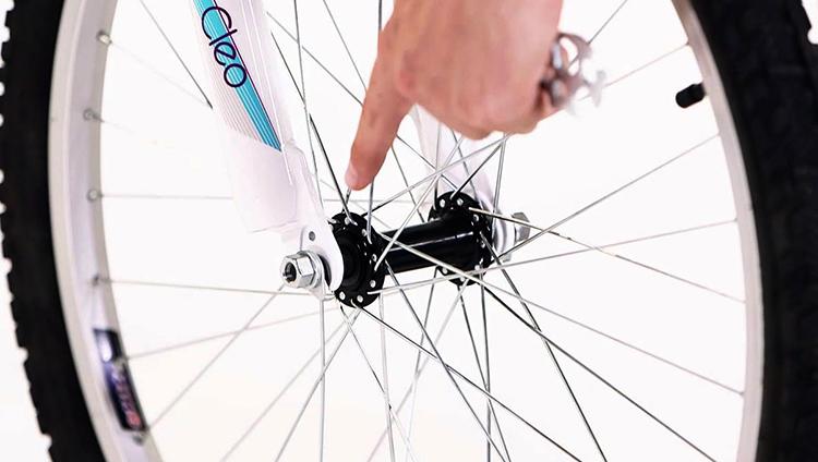 Втулка на велосипеде