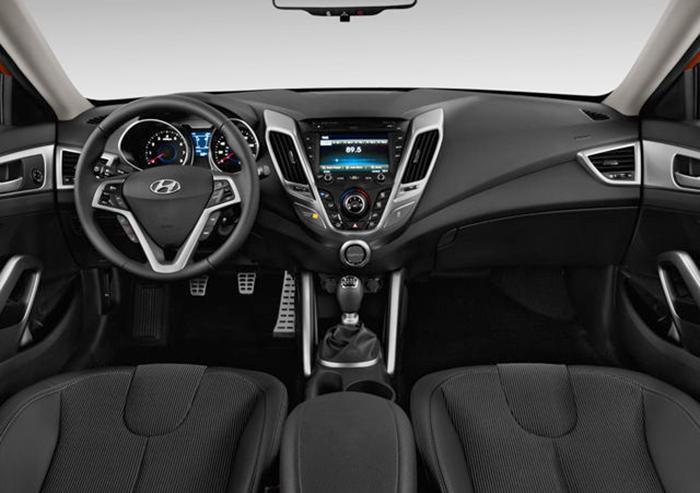 Салон Hyundai Veloster