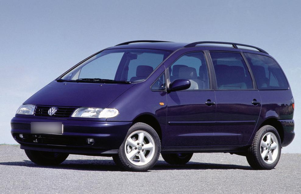 Volkswagen Sharan 1 поколения