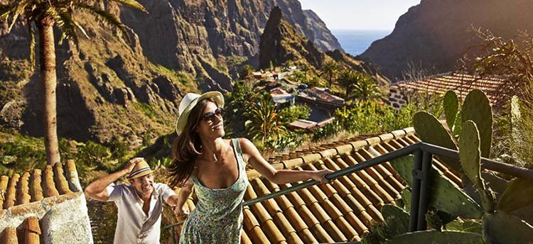 Туристы на Канарских островах