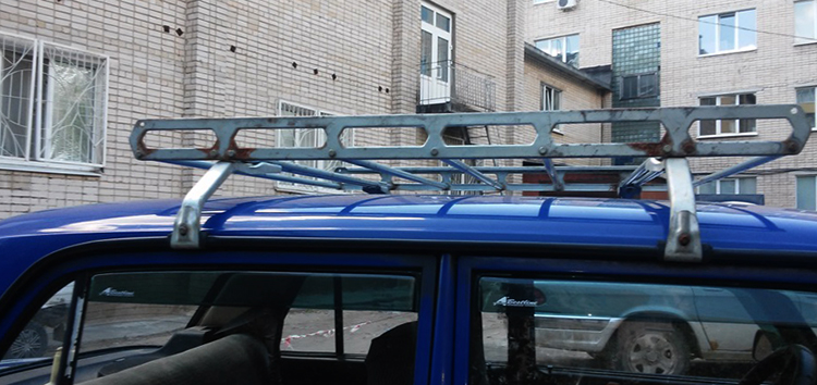 Багажник на ВАЗ 2107