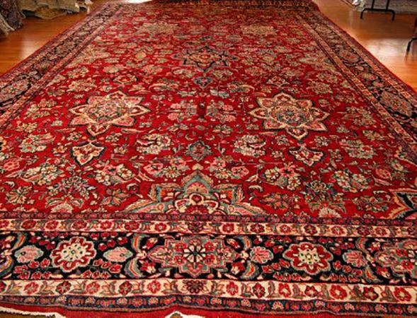 Большой персидский ковер