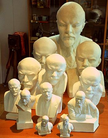 Бюсты Ленина