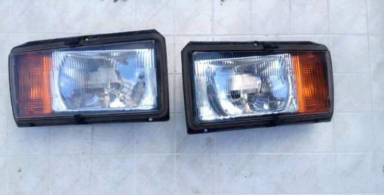 Две фары на ВАЗ 2107