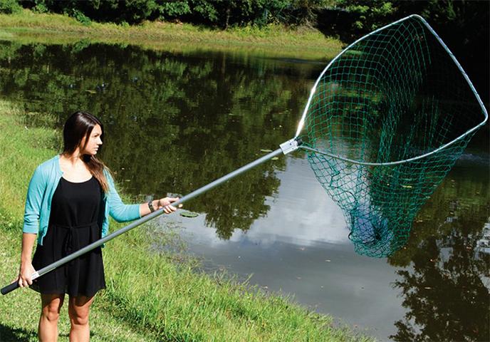 Большой сачок для рыбалки