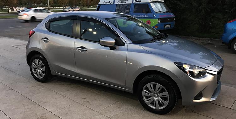 Mazda Demio 4 поколения