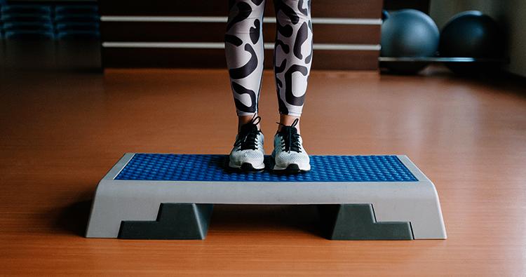Использование степа для фитнеса
