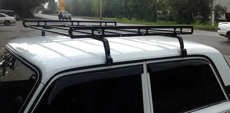 Установленный багажник на новый ВАЗ-2107