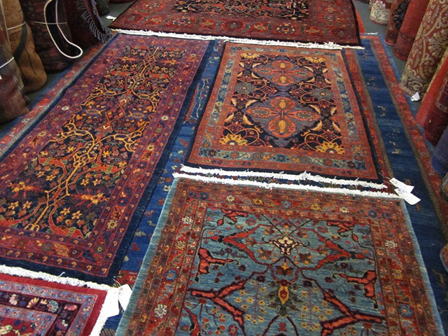 Выбор персидских ковров