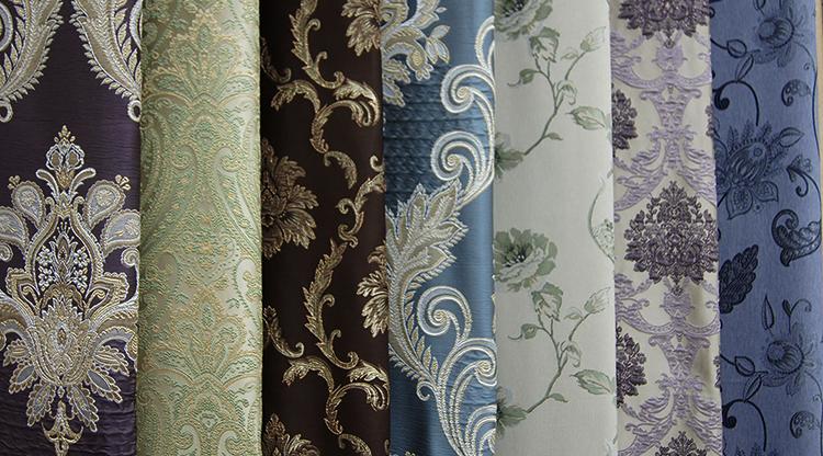 Разные портьерные ткани