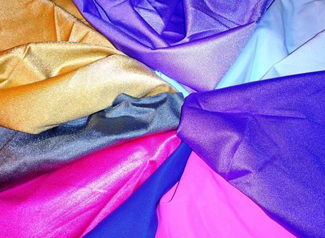 Разноцветная блифлекс-ткань