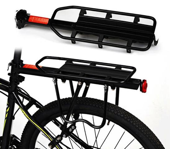 Новый багажник на велосипед