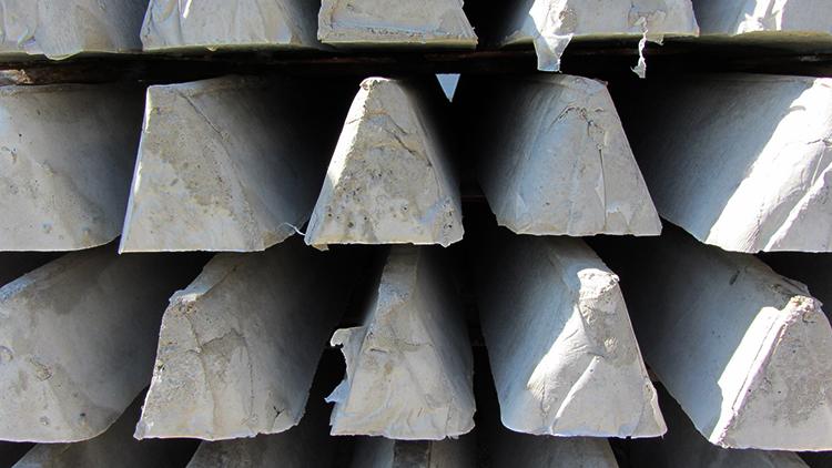 Столбы (пасынки) из бетона