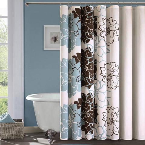 Тканевая штора для ванны