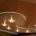 Сколько в среднем стоят двухуровневые натяжные потолки