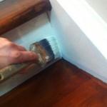 Сколько стоит покрасить лестницу из дерева?
