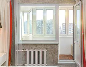 Сколько стоит оконный блок с балконной дверью