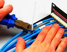 Сколько стоит прокладка телефонного кабеля