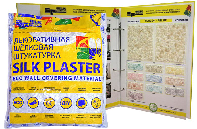 Шелковая штукатурка Plaster