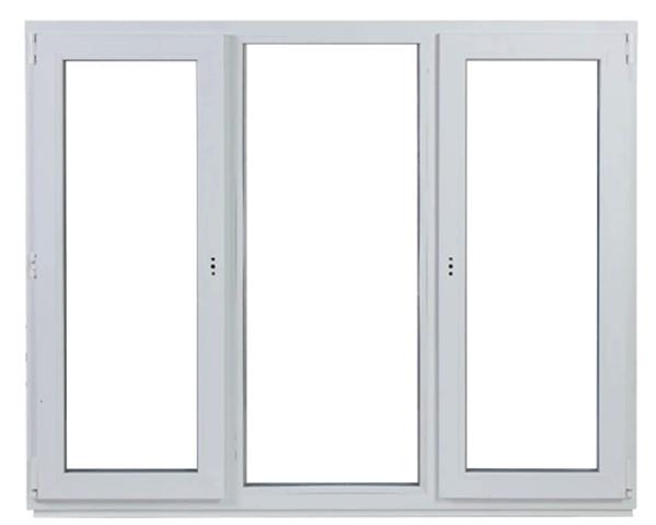 Окно с тремя створками