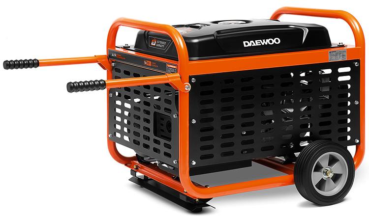 Генератор Daewoo Power Products GDA 8500E-3