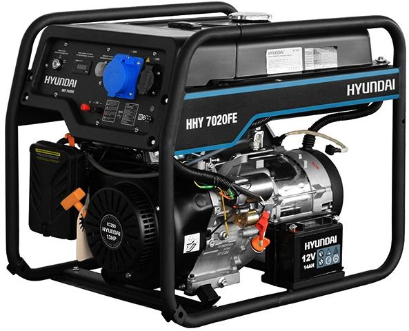 Генератор Hyundai HHY 7020FE ATS