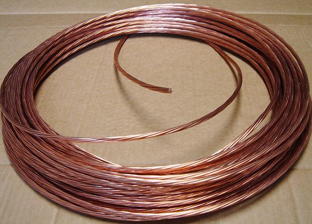 Голый медный кабель