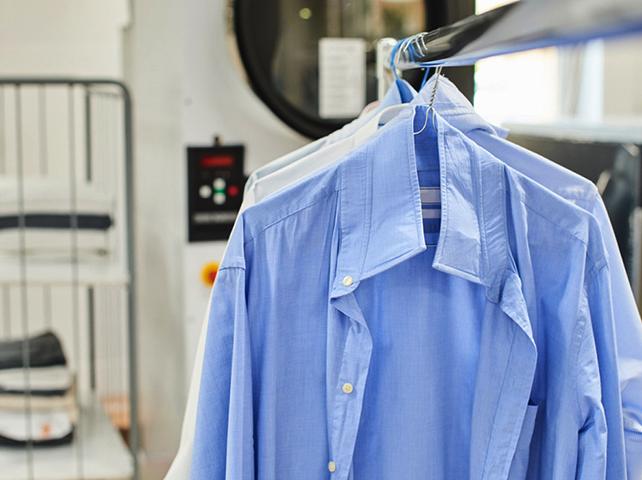 Химчистка рубашки в салоне