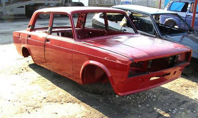 Кузов на автомобиль ВАЗ 2105