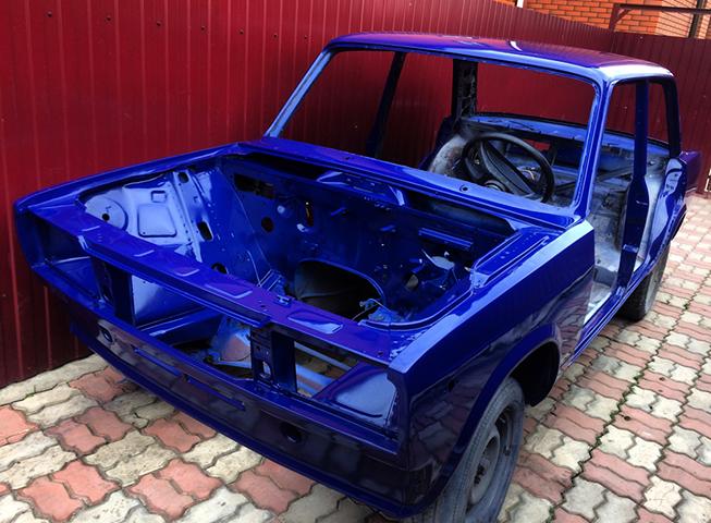 Окрашенный кузов на ВАЗ 2105