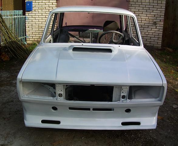 Белый кузов на ВАЗ 2105