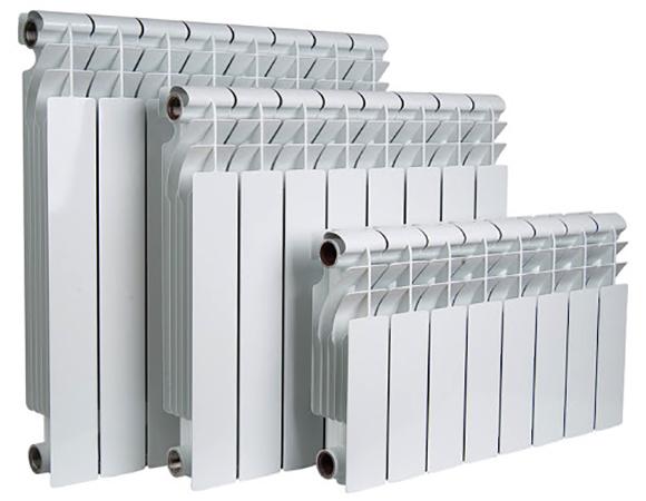 Биметаллические радиаторы разных размеров