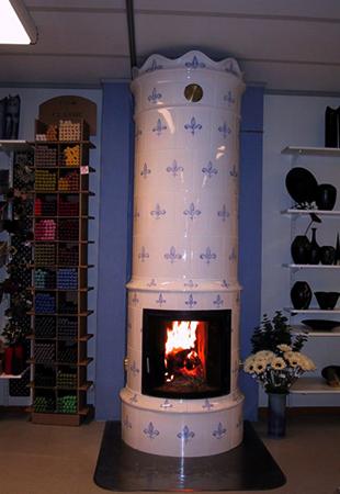 Голландская печь-камин