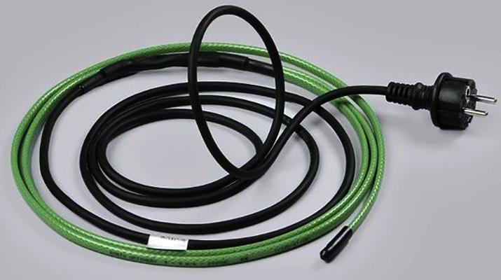 Новый греющий кабель для водопровода