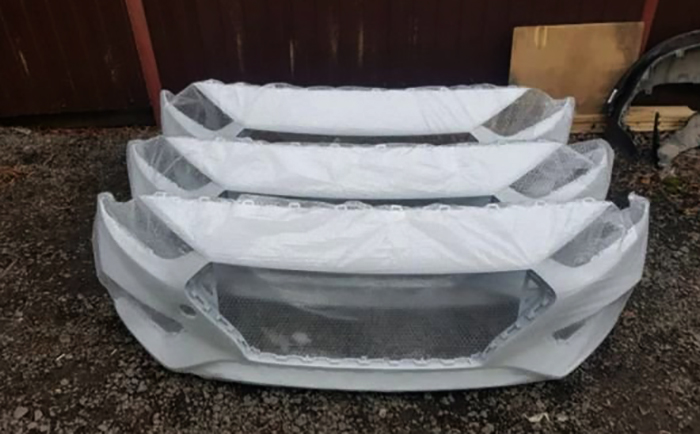 Бамперы на Hyundai Solaris