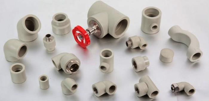 Фитинги для присоединения пластиковых труб