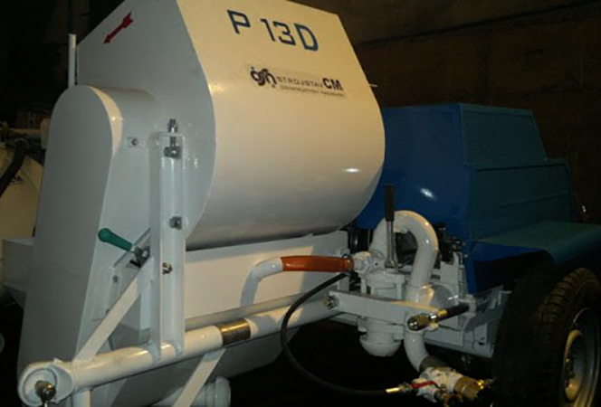 Машинка для штукатурки P13D