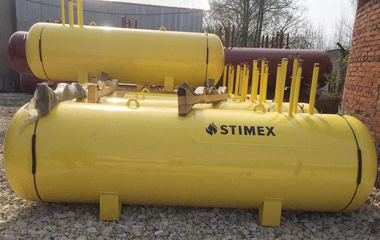 Газгольдеры Stimex