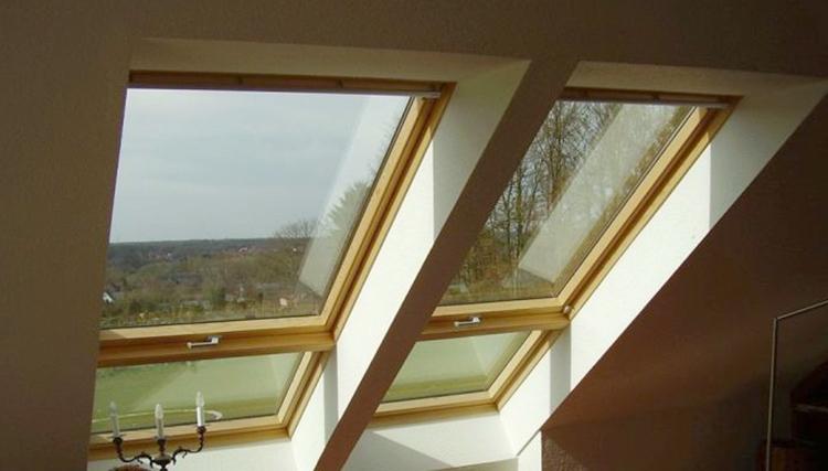 Установленные мансардные окна