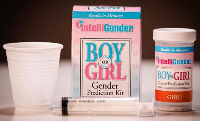 Гендерный тест IntelliGender Boy or girl — 1600-2100 рублей