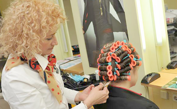Процедура биозавивки волос