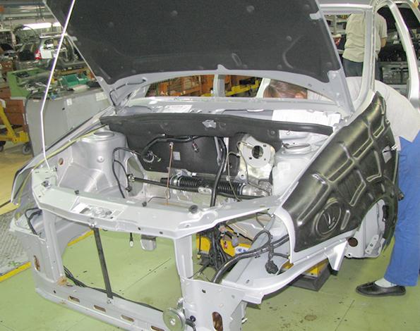 Оригинальный кузов на Lada Granta