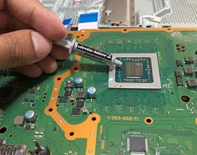 Сколько стоит чистка и замена термопасты на PS4?