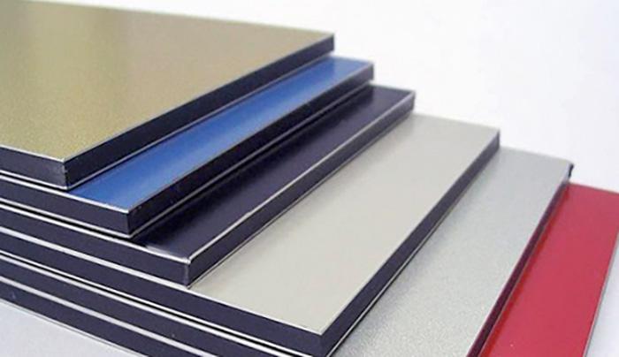 Разноцветные алюминиевые композитные панели