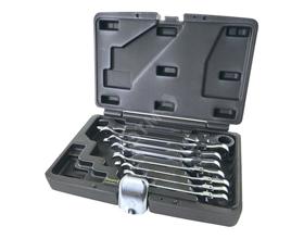 Сколько стоит набор накидных ключей с трещоткой?