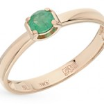 Сколько в среднем стоит кольцо с изумрудом в золоте?