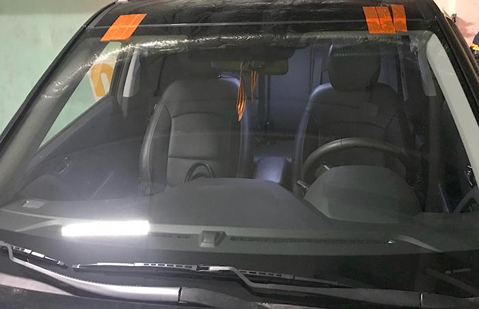 Замена лобового стекла на Hyundai Creta