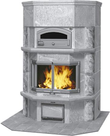 Печь-камин с духовым шкафом TLU2637/11, цена — 829 500-830 000 руб.